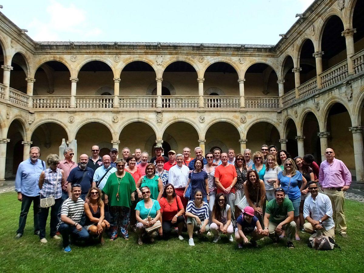 Visita del coro del conservatorio de Cuenca al País Vasco